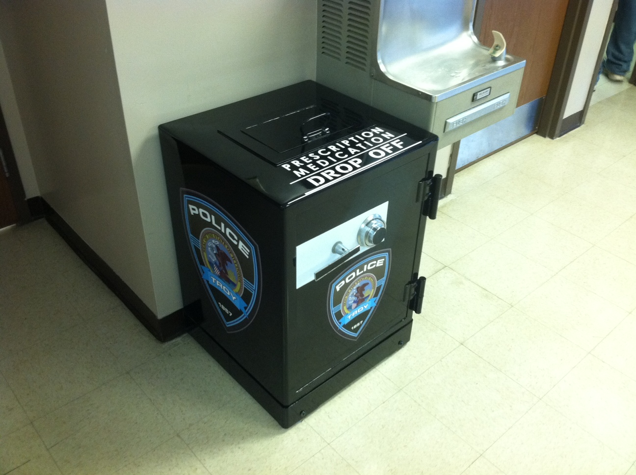 Prescription Medication Drop-Off Box